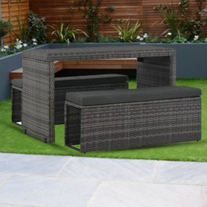 3x Outdoor Dining Set