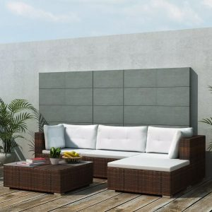 5x Outdoor Lounge