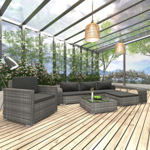 8x Outdoor Lounge