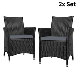 2X Outdoor Table and Chair