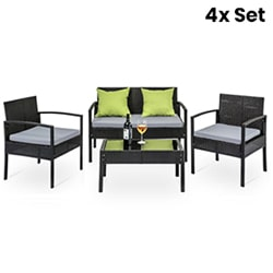 4X Outdoor Table and Chair